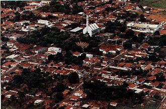 Prata, Minas Gerais - The center of Prata