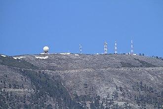 Cerro Potosí - Cerro Potosí in the end of winter, viewed from Pozo del Gavilán.