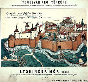 Temeşvar Eyalet - Ottoman Temeşvar (Timişoara) in 1602