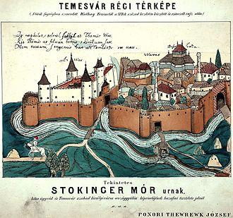 Temeşvar Eyalet - Ottoman Temeşvar (Timișoara) in 1602