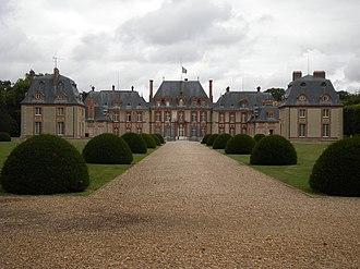 Haute Vallée de Chevreuse Regional Natural Park - Image: Château de Breteuil, PA00087406