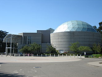 Chabot Space and Science Center - View of the entrance of the Chabot Space and Science Center.