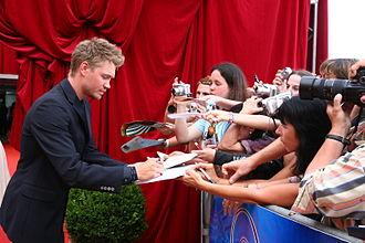 Chad Michael Murray - At the 2007 Monte-Carlo Television Festival