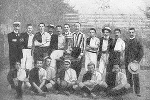First Vienna FC - Challence Cup 1899 winners First Vienna FC.