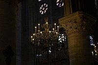 Chandelier at Notre Dame de Paris.jpg