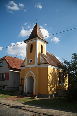Chapel of the Virgin Mary of the Rosary in Zblovice, Znojmo District 01.JPG