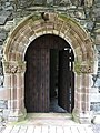 Chapter House doorway, Glenluce Abbey, Kirkcudbright.jpg