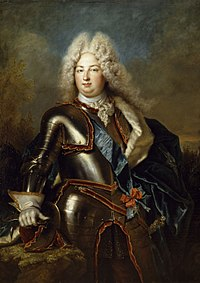 Charles of France, Duke of Berry wearing the sash of the order of the Holy Spirit (18th century, Nicolas de Largillière) .jpg
