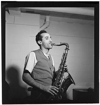 Charlie Ventura - Image: Charlie Ventura, National studio, New York, N.Y., ca. Oct. 1946 (William P. Gottlieb 08871)