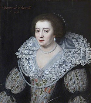 Charlotte Stanley, Countess of Derby - Charlotte Stanley, Countess of Derby by Michiel Jansz. van Mierevelt