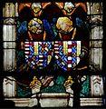 Chartres-Chapelle Vendôme-Armes-Jacques de Bourbon, Jeanne de Naples.jpg