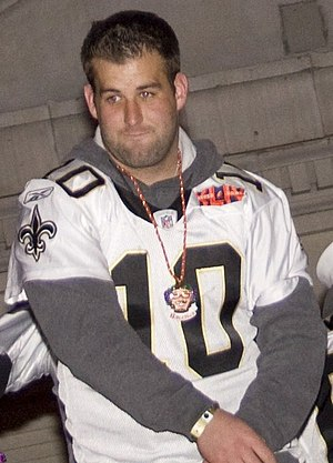 Chase Daniel - Daniel at the Super Bowl XLIV victory parade in February 2010.