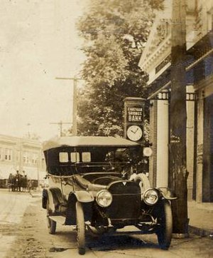 Pittsylvania County, Virginia - Main Street, Chatham, Pittsylvania County, circa 1922