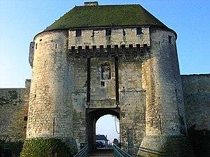 Château de Caen - A gatehouse of the château de Caen (Porte des champs)