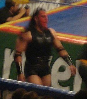 Chessman (wrestler) - Chessman during the Guerra de Titanes (2009) event.