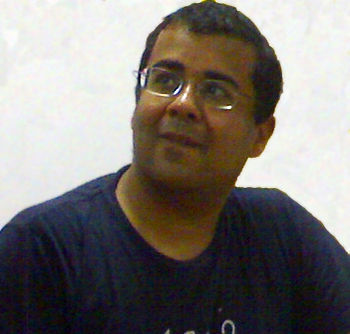 English: Photograph of Chetan Bhagat, Novelist...