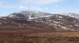 The Cheviot - The Cheviot in snow