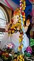 Chinalingala vinayaka chavithi 2017 pathuru anjaneya swamy gudilo Ganesh.jpg