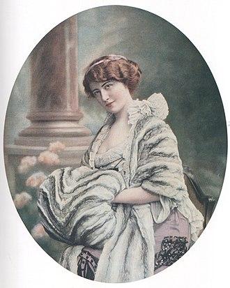 Jeanne Paquin - Image: Chinchilla stole and muff, Paquin, 1903