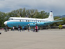 Chinese Government Vickers Viscount 50258, Beijing Aviation Museum (26382545542).jpg