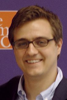 Chris Hayes at MSNBC The Common Good - 2012 07 18 - 01.jpg
