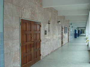 Christopher Columbus High School (Miami-Dade County) - The school chapel