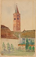 Church Tower, Italy SAAM-1962.13.39 1.jpg