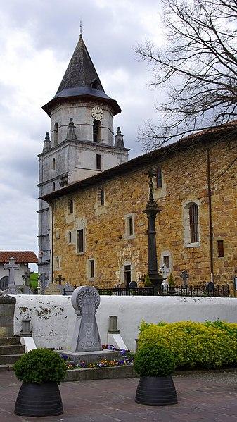 Church in Ainhoa