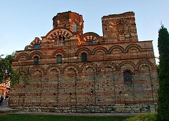 Church of Christ Pantocrator, Nesebar - North facade