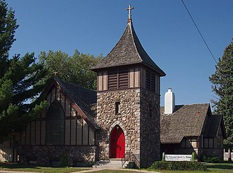National Register of Historic Places listings in Morrison County, Minnesota - Image: Church of Our Savior Little Falls