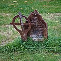 Church of St Andrew, Nuthurst, West Sussex churchyard cast iron grave monument 1.jpg