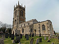 Church of the Holy Cross Great Ponton Lincolnshire England - from the southeast.jpg