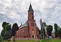 Church of the Sacred Heart of Jesus (1923 design. by Kazimierz Brzeziński), 144 Cechowa street, Krakow, Poland.jpg