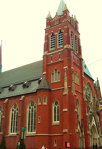 Church of Our Lady of Grace (Hoboken, New Jersey) - Image: Churchofourladyofgra ce