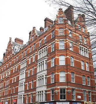Gray's Inn Road - Churston Mansions.