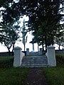 Cimitirul ostaşilor români şi germani (1916-1919) - trepte către cruce.JPG
