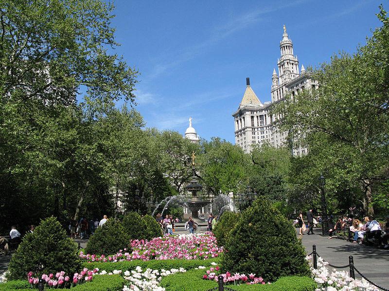 File:City Hall Park - New York City.jpg