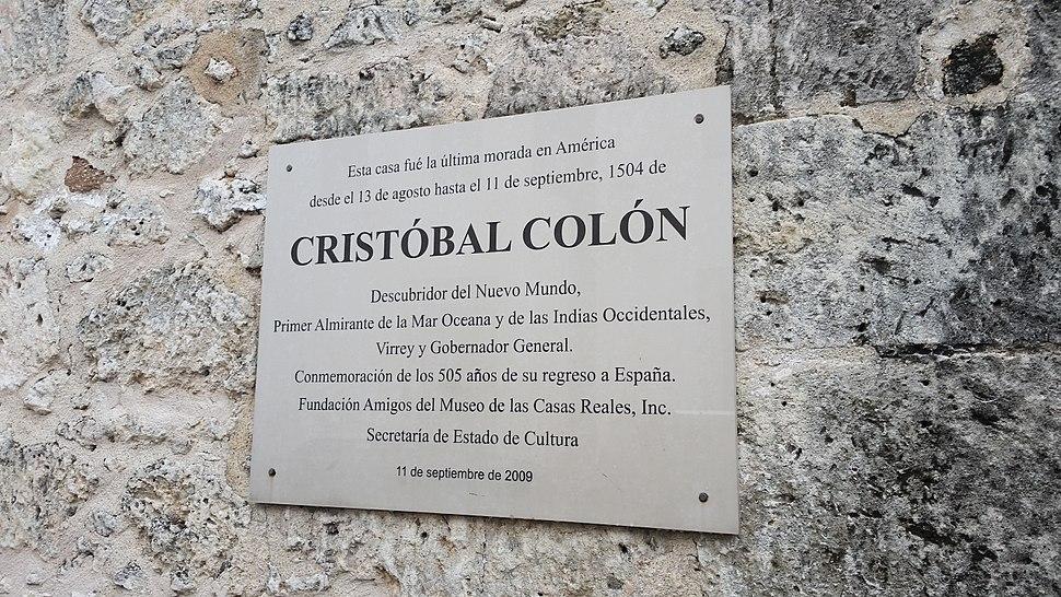 Ciudad Colonial historical marker