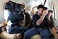 Civilian media photographers cover exercise Vigilant Eagle 2013 aboard an aircraft near Joint Base Elmendorf-Richardson, Alaska, Aug. 28, 2013 130828-O-ZZ999-008-CA.jpg