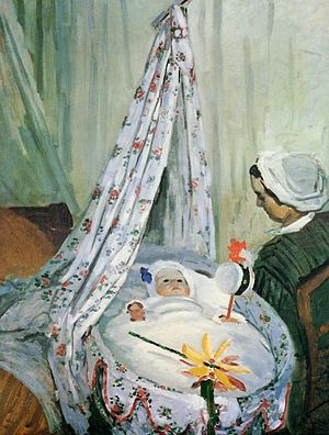 Jean Monet (son of Claude Monet) - Image: Claude Monet, Jean Monet in His Cradle
