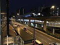 Clementi MRT Station at Night (Other Side).jpg
