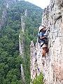 Climber on Via Ferrata at Nelson Rocks Preserve.jpg