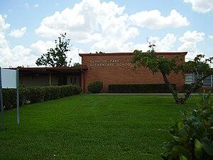 Clinton Park, Houston - Clinton Park Elementary School closed in 2005
