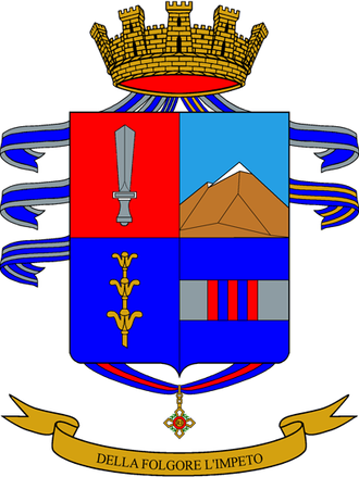 9th Paratroopers Assault Regiment - Coat of Arms of the 9° Airborne Regiment