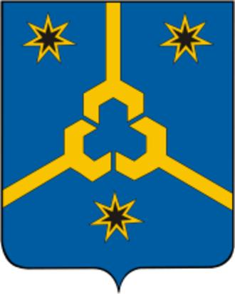 Neftekamsk - Image: Coat of Arms of Neftekamsk (Bashkortostan)