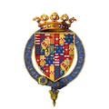 Coat of arms of Claude de Lorraine, Duc de Chevreuse, KG.png