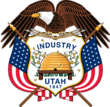 Coat of arms of Utah.png