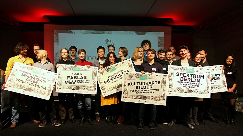 Winners of the Coding da Vinci 2017 Cultural Hackathon