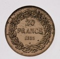 Coin BE 20F Leopold I laureled rev A2.TIF