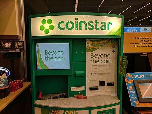 Coinstar kiosk
